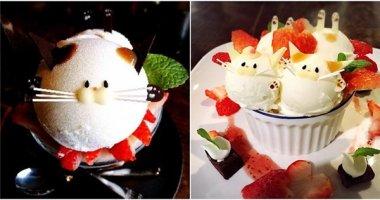 """Món kem mặt mèo siêu đáng yêu """"thách"""" bạn dám ăn"""