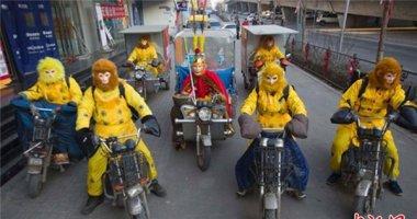 Dịch vụ Tôn Ngộ Không giao hàng ngày Tết ở Trung Quốc