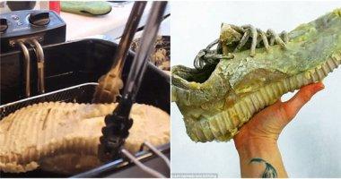 Chơi ngông đem giày Yeezy gần 20 triệu... tẩm bột chiên giòn