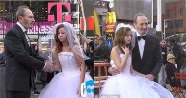 Phẫn nộ với đám cưới giữa ông già 65 tuổi và cô bé 12 tuổi