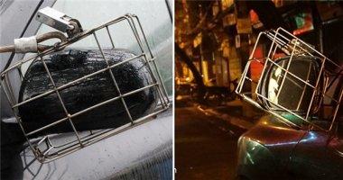 Chiêu đối phó trộm gương ôtô ở Hà Nội