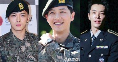 """Mĩ nam quân ngũ """"vạn người mê"""" của làng giải trí xứ Hàn"""