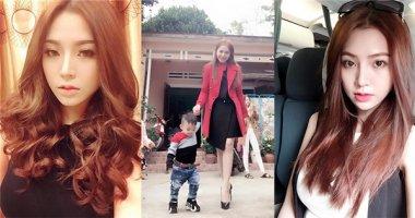 Cách phục hồi tóc hư tổn của bà mẹ đơn thân xinh như hot girl