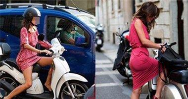 Bí kíp tránh hớ hênh cho những nàng hay mặc váy lái xe