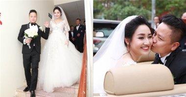 Khoảnh khắc ngọt ngào trong đám cưới bí mật của Á hậu Trà My