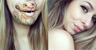 Khi môi bạn và các nhân vật hoạt hình nổi tiếng trở thành...một