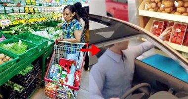 Tương lai bạn có thể lái ô tô... một lèo vào siêu thị mua hàng?