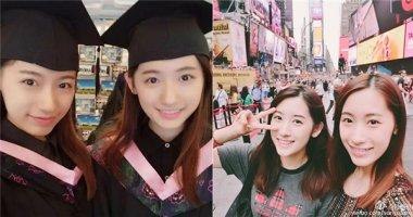 Ngẩn ngơ với vẻ đẹp của cặp song sinh nữ nhận học bổng Harvard