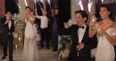 Toàn cảnh tiệc cưới lung linh giữa biệt thự triệu đô của Trang Lạ