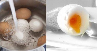 Bí kíp luộc trứng lòng đào chuẩn xác đến từng mi li mét