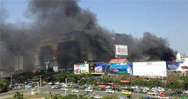 Cháy lớn gần sân bay Tân Sơn Nhất