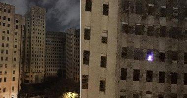 Bàng hoàng về ánh sáng bí ẩn phát ra từ bệnh viện hoang