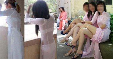 Mặc áo dài phản cảm sẽ bị phạt nặng?