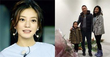 Triệu Vy mừng sinh nhật tuổi 40 ấm cúng bên chồng và con gái