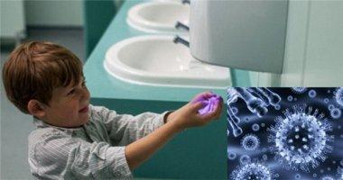 """""""Kinh hoàng"""" với số lượng virus có trong máy sấy khô tay"""