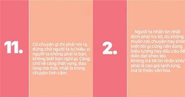 25 nguyên tắc tuyệt vời để giữ gìn những mối quan hệ tốt đẹp