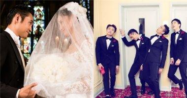 Toàn cảnh về đám cưới tràn ngập nhan sắc và mộng mơ của Viên Hoằng