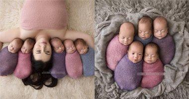 Sau ca sinh 5, người phụ nữ 26 tuổi này đã là mẹ của... 8 đứa con