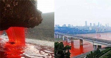 """""""Bí ẩn"""" về những dòng sông bất ngờ hóa đỏ như máu"""