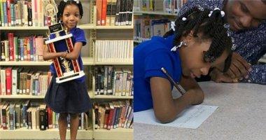 Bé 7 tuổi cụt hai tay giành giải viết chữ đẹp