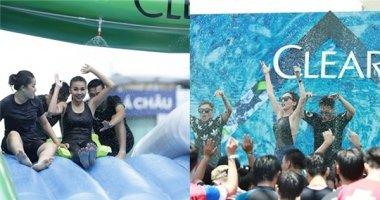 20 gương mặt đình đám Vbiz quậy tưng bừng lễ hội nước Clear