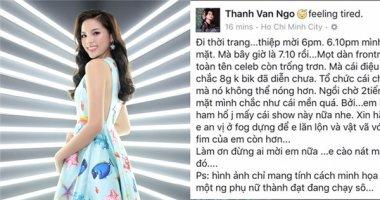 """Ngô Thanh Vân chỉ trích Kỳ Duyên, Phương Trinh vì """"giờ dây thun""""?"""
