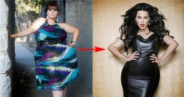 """Kì tích giảm hơn 100kg của người mẫu có """"siêu vòng ba"""" gần 1,7m"""