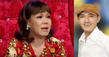 Việt Hương khóc nức nở khi nhớ cố nghệ sĩ Hữu Lộc