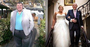 Cảm động người cha giảm 130kg để dắt tay con gái vào lễ đường