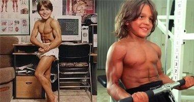Ngỡ ngàng khi biết được câu chuyện đằng sau cậu bé 6 tuổi đầy cơ bắp