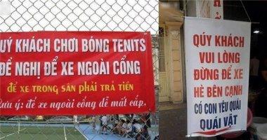 Hài hước những biển báo có một không hai tại Việt Nam