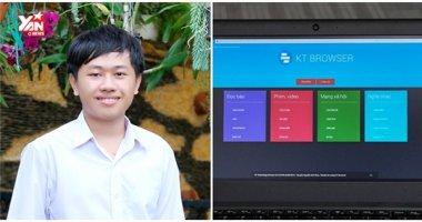Website trình duyệt của nam sinh Việt 15 tuổi vừa bị hack sập
