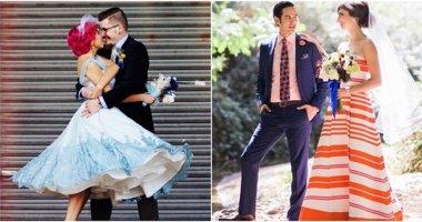 Đâu nhất thiết phải mặc váy cưới truyền thống thì cô dâu mới đẹp xinh!