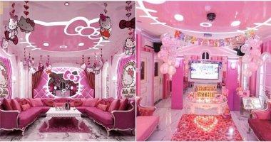 """""""Ngập ngụa"""" trong phòng karaoke dành cho """"fan"""" Hello Kitty tại Sài Gòn"""