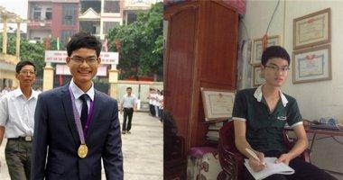 Con trai thợ sửa khóa lập cú đúp với hai huy chương vàng Toán quốc tế