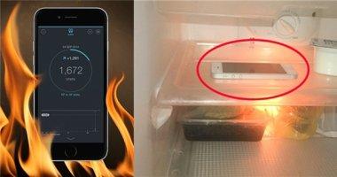 Lí do người dùng iPhone lâu năm nên cho máy vào tủ lạnh 20 phút