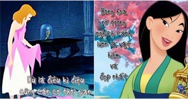 Mỗi câu thoại ý nghĩa trong phim Disney là một bài học cuộc sống