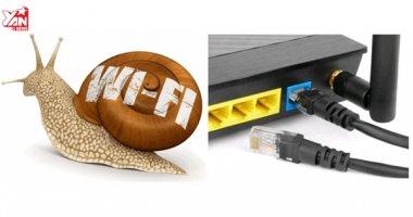 Mách bạn cách xử lí khi wifi ở nhà chậm như rùa bò