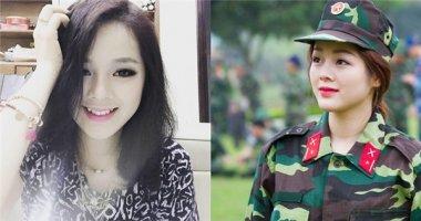 """Sự thật về nữ quân nhân xinh đẹp đang khiến """"bao trái tim rơi rụng"""""""
