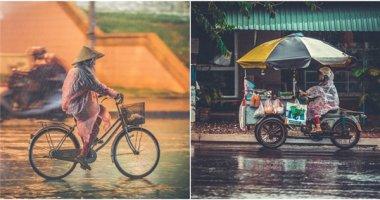 Lặng lẽ những cảnh đời sau một cơn mưa bình yên ghé qua Sài Gòn