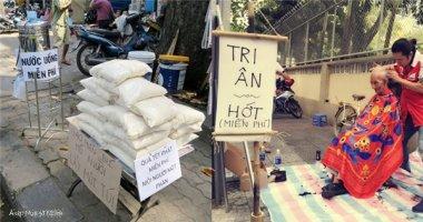 Những bức ảnh cho bạn niềm tin vào lòng tốt lan tỏa của người Việt