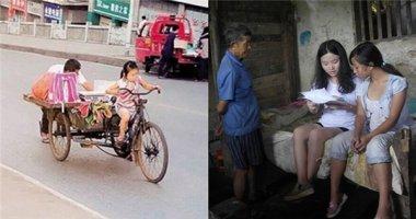 Thổn thức trước cảnh bé gái nhỏ tuổi gồng mình kiếm tiền mưu sinh