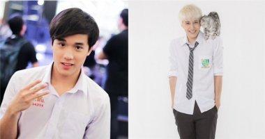 """""""Điên đảo"""" trước vẻ điển trai của các """"hot boy đồng phục"""" Thái Lan"""