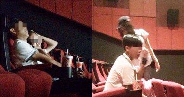 """Cư dân mạng bức xúc trước văn hóa xem phim """"vô tư"""" của cặp đôi trẻ"""