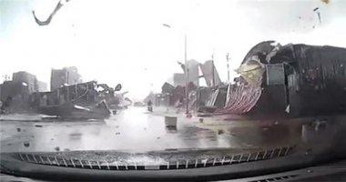 Cảnh tượng lốc xoáy ở Bắc Ninh khiến truyền thông nước ngoài sửng sốt