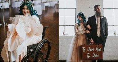 Cô gái 8 năm gắn liền với xe lăn và điều kì diệu bất ngờ trong lễ cưới