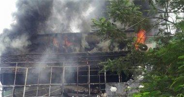 Cháy rụi quán karaoke Hà thành, may mắn không thiệt hại người