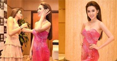 Ngọc Loan The Face được Phạm Hương tận tình chỉnh sửa váy áo