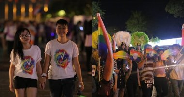Cộng đồng LGBT tự hào thể hiện giới tính trong đêm hội dành cho mình