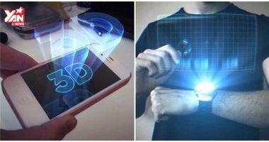 Apple bí mật nghiên cứu màn hình 3D tương tác ảo cho iPhone?